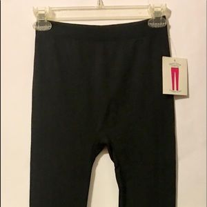 Bobbie Brooks Fleece Black Leggings- Small/Med
